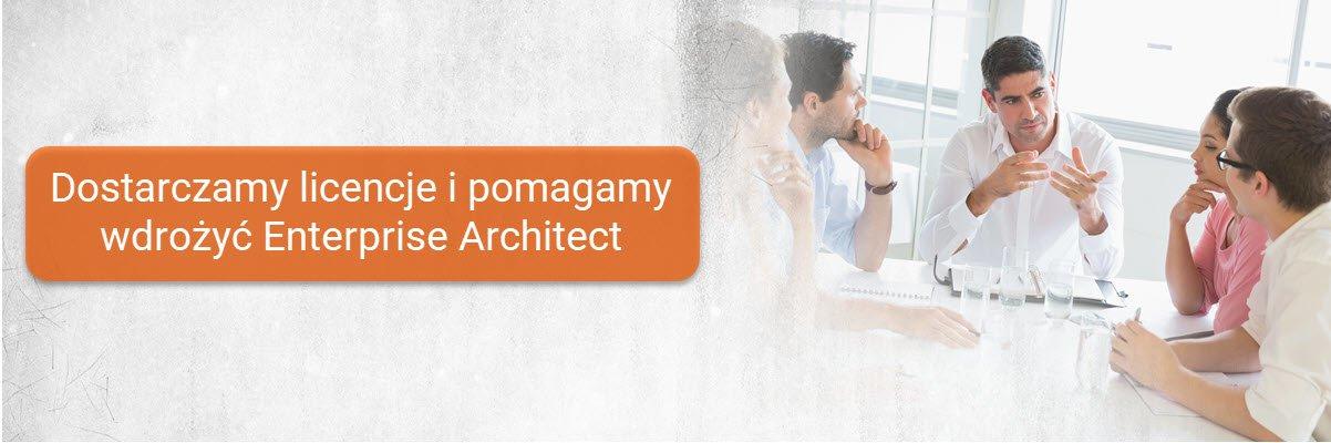 Dostarczamy licencje oraz pomagamy wdrożyć Enterprise Architect